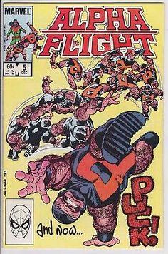 Alpha Flight #5 Marvel Comics 1983 NM 9.0