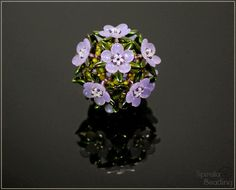 Spirala beading: Touch of Spring