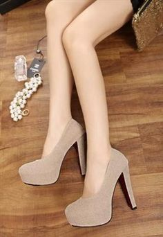 Stylish high heel pumps from lovelyfashion