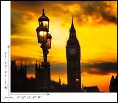 London's Big Ben at sunset  #London #England #Travel #Photography