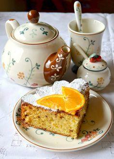 Torta con confettura all'arancia