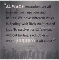 Always remember.., Dodinsky