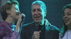Backing singers Perla Batalla and Julie Christensen inspired the central character in Throat of These Hours, Tina. Here they are in rehearsal with Leonard Cohen (1994) http://www.cobra.be/cm/cobra/videozone/archief/muziek/1.1037169