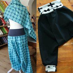 luftige #Baumwolle ideal für #sommerhosen #stoffverarbeitung #jersey #bündchen #nähideen