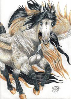 Pegasus by ~LunarSymphony on deviantART