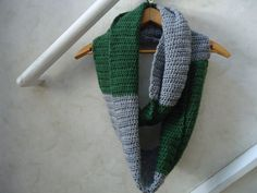 Harry Potter Slytherin Infinity Scarf by HippieHotel on Etsy, $25.00