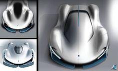 Electric Le Mans concept sketch by Gilsung Park