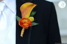 Fall Wedding - Boutonniere for the Groom