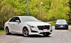 2014 Cadillac CTS vs 2015 Hyundai Genesis. For more, click http://www.autoguide.com/car-comparisons/2014-cadillac-cts-vs-2015-hyundai-genesis-3939.html