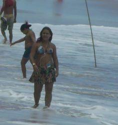 Panoramio - Photo of Maria Ceiça na Praia de Boa Viagem .pr. brasil.