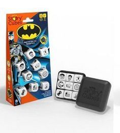 Shelburne Country Store - Rorys Story Cubes Batman, $9.95 (http://www.shelburnecountrystore.com/rorys-story-cubes-batman/)