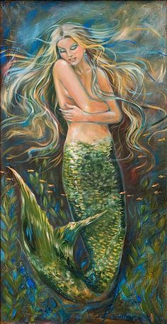 Artist Little Mermaid Artwork: Fascination St. Art Gallery
