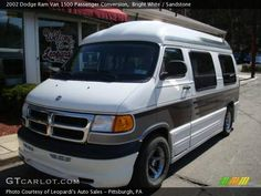 1999 dodge conversion van | 2002 Dodge Ram Van 1500 Passenger Conversion in Bright White. Click to ...