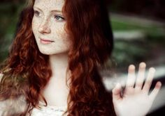 Amazing natural red hair.  Beautiful