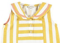 vestido brasilia rayas miel Accesorios Para Bebes cca27eb97df0