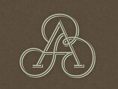 »AB« Monogram ...
