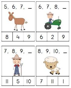 Knijpkaartjes boerderij juf Anke. Kindergarten Math Activities, Preschool Worksheets, Toddler Activities, Learning Activities, Kids Learning, First Grade Math, Math For Kids, Working With Children, School Teacher