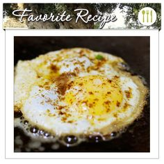 Did you know that if you're going to put a fried egg on top of flavorful food there's a simple trick you can use to help its egg flavor stand out? Fry it in olive oil. It's easy! Let your olive oil heat up over medium-high heat for a couple minutes, then crack your egg into it. The edges and the bottom will turn a crispy, lacy golden brown while the top will remain soft-set.