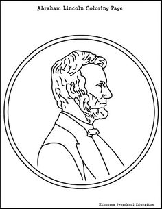 1000 images about president 39 s day crafts on pinterest for Lincoln coloring pages