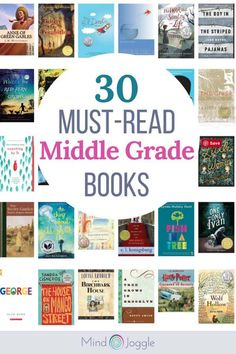 30 Must-Read Middle Grade Books. These middle grade books offer diverse characters, experiences, and settings. Middle School Novels, Middle School Boys, Middle School Libraries, Middle School Reading, Kids Reading, Close Reading, Reading Books, High School, Middle School Book List