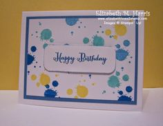 Stampin' Up!, birthday, Gorgeous Grunge, Remembering Your Birthday, greeting cards