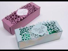 Liebe zum Detail, Geschenkverpackung basteln mit ThinlitsStampin`Up! Produkte mit Anregungen der Hobbycompany