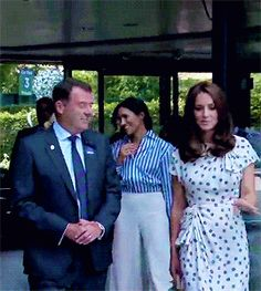 Kate Middleton and Meghan Markle at day twelve of the Wimbledon Championships 7/14/2018!