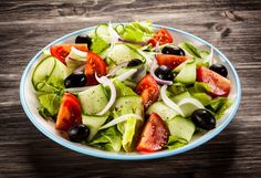 Greek salad Weight Watchers 3 pointsplus A light refreshing salad with a delicious Greek vinaigerette