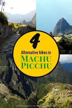 4 amazing alternatives to climbing Huayna Picchu and still see Machu Picchu from above. There is so much more to do inside Machu Picchu - you can have a fun time even without tickets for Wayna Picchu. Click for more.