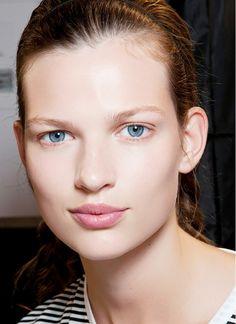 Natural, no makeup look