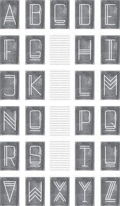 Beautiful font. FORMA | CUSTOM TYPEFACE by Arjun Harrison-Mann, via Behance