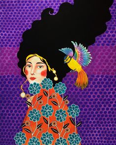 Por amor al arte: Hülya Özdemir Art And Illustration, Portrait Illustration, Female Portrait, Portrait Art, Portraits, Klimt, Belle Photo, New Art, Illustrators