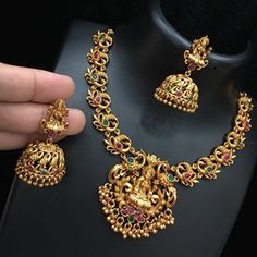 👑 Every Piece of Jewellery Tells a Story. Come, let's write your beautiful story ❤💕🛍️😍 Make your days special with… Gold Temple Jewellery, Gold Jewellery Design, Gold Jewelry, Antique Jewellery, Gold Necklace, Indian Wedding Jewelry, Bridal Jewelry, Bridal Bangles, Indian Jewelry