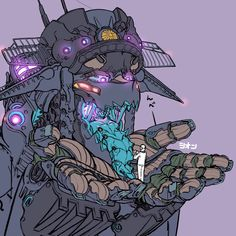 Fantasy Character Design, Character Concept, Character Art, Robot Cute, Monster Girl Encyclopedia, Arte Robot, Anime Monsters, Robot Girl, Arte Cyberpunk
