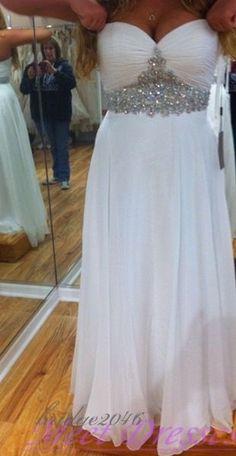 Simple Sweetheart  Wedding Dresses Bridal Gowns Plus Size Beach Wedding Dress