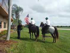 Getting ready to start the Harness Racing with the singing of the National Anthem at Sunshine Meadows Equestrian village