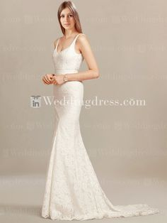 Mermaid style Lace wedding dress will add a graceful charm to the ceremony that is simply amazing.