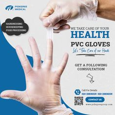 Cost-effective Vinyl Gloves for different useage Disposable Gloves, Latex Gloves, Pvc Vinyl, Take Care Of Yourself, Medical, Let It Be, Medicine, Med School, Active Ingredient