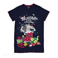 de24285504 Hatley Women s ONE SIZE PJ Sleepshirt Nightmare Befoe Christmas Night Shirt  horse