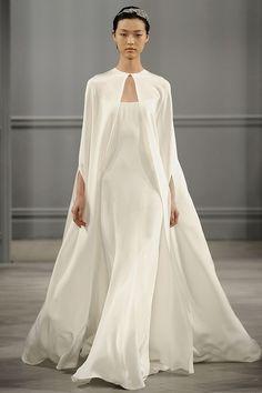 10 Modern & Minimal Wedding Gowns: Monique Lhuillier