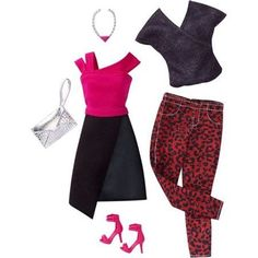 Barbie Fashion 2 Pack- Edgy