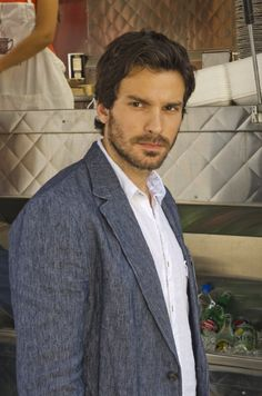 Santiago Cabrera, Venezuelan-born, Chilean-British actor, b. 1978, seen here in Dexter