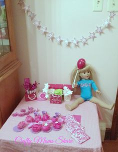 printable doll party hats american girl tutorials pinterest