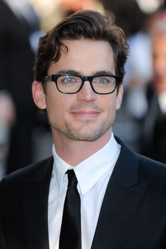 Pin for Later: 30 Reasons Matt Bomer Is So Sexy It Hurts He Rocks His Glasses Matt is one sexy, spec-donning celebrity.