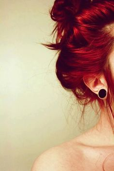 my red is sloooowly fading into my natural color again. but THIS is so ideal and i need it to be this red asap.