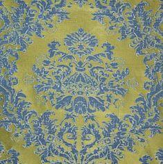 Beautiful fabric option for pillows on my back porch! Clarence House KUMAR PINE/INDIGO Fabric Porch Doors, Clarence House, Pine, Indigo, Textiles, Pillows, Fabric, Beautiful, Ideas