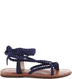 FLAT TRANÇAS DRESS BLUE | Schutz