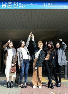(Yeri, Joy, Wendy, Seulgi and Irene)