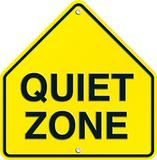 "Checkout the ""Quiet Zone Two-Sided Decorations"" product"