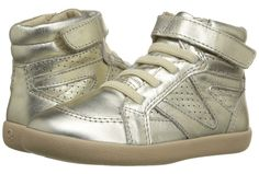metallic shoes for kids   gold (or silver) high tops from Old Soles